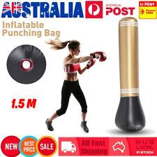 Adult Kids Inflatable Boxing Fighting Punching Bag Column Tumbler Air Sand Bag