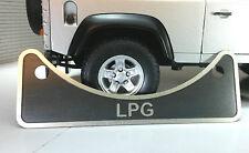 Land Rover Series 2 2a 3 2.25 2.6 V8 Petrol LPG Fuel Filler Label Badge 502951