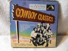 Sons Of The Pioneers Cowboy Classics BOX SET 45 EP RCA Victor WP168 GREEN VINYL!