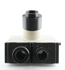 Olympus Bh2 Trinocular Head With 3d Printed Dovetail Mount Microscope
