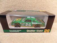 New 1995 Revell 1:24 Diecast NASCAR Steve Kinser Quaker State Thunderbird #26