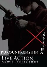 Japanese Live Action Movies: Rurouni Kenshin 3 Movies in 3 Dvds 4:3 English Sub