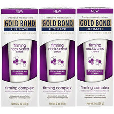 3 Pack - Gold Bond Ultimate Firming Neck & Chest Cream 2 Oz Each