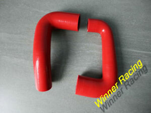 RED SILICONE TURBO HOSES FOR SMART FORTWO & ROADSTER 2003-2007