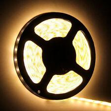 5 MT STRISCIA STRIP LED SMD3528 ADESIVO IP20 BOBINA 300 LEDs 3000K Warm Light