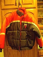 Vintage 90's NBA Chicago Bulls coat / jacket reversable Pro Player sz L EUC!