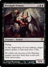 BLOODGIFT DEMON Innistrad MTG Black Creature—Demon RARE