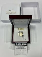 2 Euro BE Luxembourg 2020 - Naissance Prince Charles