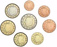 Belgien 3,88 Euro 2004 bfr. 1 Cent - 2 Euro lose um Münzstreifen