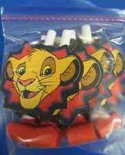 RARE Lion King Disney Cartoon Movie Kids Birthday Party Favor Horns Blowouts