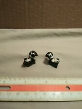 Vintage Miniature Ceramic Skunk Pair