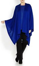 MARINA RINALDI by MAX MARA, SILK & CASHMERE Knit Cape, Plus Size L