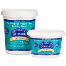 Stewart Pro-Treat Freeze Dried Beef Liver Treats Choice of Trainers for 30 years