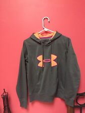 Grey Under Armor Hoodie Size Small