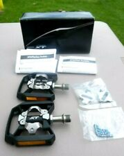 Shimano Deore XT PD-T8000 With Reflectors & Cleats EPDT8000 Pedal Set