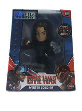 "Jada Toys Die-Cast Metals Winter Soldier 4"" Inch Figure Marvel Civil War New M49"