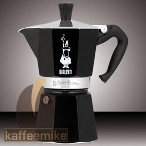 Bialetti Moka Express schwarz Espressokocher verschiedene Größen -Top Angebot