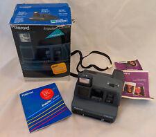 In Box Polaroid Instant Camera Impulse Focus Free Pop Up Flash Close Up Lens VTG
