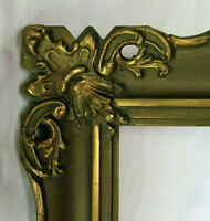 "ANTIQUE FITS 9"" X 12"" GOLD GILT ORNATE WOOD FRAME FINE ART VICTORIAN"