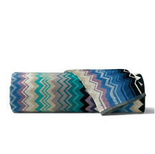 Missoni Home Giacomo Zig Zag Stripe Hand Towel  - Color 170