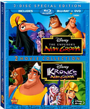 Disney The Emperor's New Groove Kronk's New Groove Comedy Blu-ray DVD Combo Pack