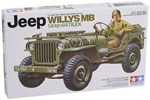 Tamiya Jeep Willys 1/4 Ton 4 X 4 Hobby Model Kit