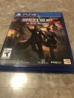 PS4 Playstation 4 Sherlock Holmes The Devil's Daughter - Fast Free Shipping