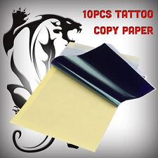 10 X transfert de tatouage / thermique / carbone / papier stencil Feuille A4