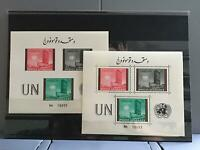 Afghanistan 1961 United Nations mint never hinged stamps sheets  R26256