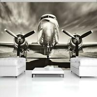 VLIES   Fototapete XXL Flugzeug Tapete Vliestapete 15F0251660