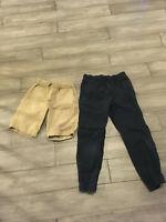Set of 2 Boys Uniform Pants and Shorts J.Crew Crewcuts, Gap Size 10