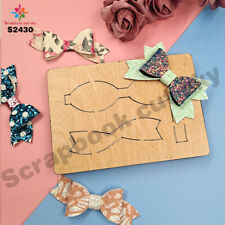 Girl with headdress bow Die cutting Suitable for Big shot sizzix    -2