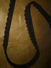10 m d'elastique sous vetements noir 10mm de large