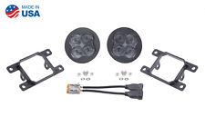 SS3 LED SAE/DOT Type A Fog Light Kit Pro Fog Optic White Diode Dynamics