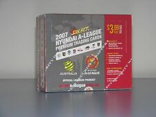 2007/08 A-League Trading Cards - Factory Sealed Box