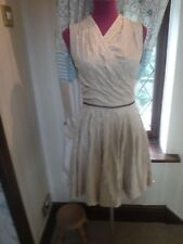 Amazing All Saints Quilted Prom Dress Nude Size 10 Excellent Condition