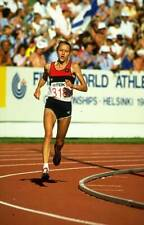 OLD SPORTS PHOTO Olympic Grete Waitz Of Norway In Action During The Marathon