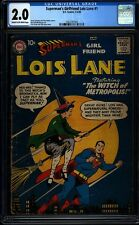 Lois Lane 1 CGC 2.0 C/OW Silver Age Key DC Comic 1st Issue in Title IGKC L@@K