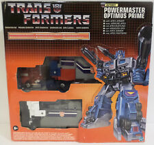TRANSFORMERS : AUTOBOT POWERMASTER OPTIMUS PRIME MODEL MADE BY HASBRO
