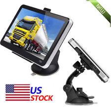 "7"" Truck Car Vehicle Portable GPS Navigation Navigator SAT NAV 4GB US Canada Map"
