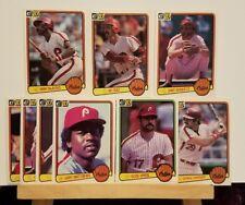 Pre-owned ~ 1983 Donruss Philadelphia Phillies Baseball Cards National League Ch