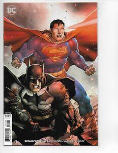 BATMAN / SUPERMAN #1 VARIANT KEY  COMIC