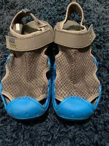 Crocs Men's Size 8 Swiftwater Mesh Wave Sandal Water Shoe Black/slate