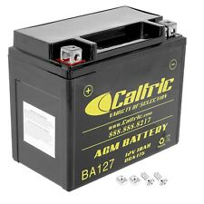 Caltric AGM Battery for Honda TRX250TE Recon 250 2X4 ES 2002-2020 / 12V 10Ah