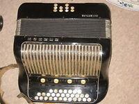 Hohner Ouverture  accordion accordeon fisarmonica,  needs service!