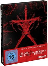 BLAIR WITCH + THE BLAIR WITCH PROJECT (2 Blu-ray Discs, Steelbook) NEU+OVP