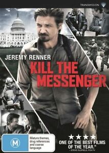 Kill The Messenger : Jeremy Renner : NEW DVD