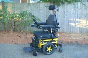 Quantum Edge 3 QLogic 3 Electric Wheelchair w/ Power Recline, Tilt, Leg 0 MILES!