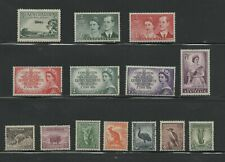 stamps Australia lot of stamps unused with gum and hinge
