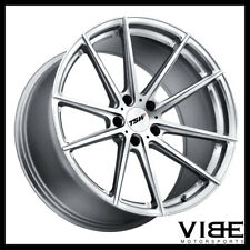 "19"" TSW BATHURST SILVER FORGED CONCAVE WHEELS RIMS FITS INFINITI G37 G37S COUPE"